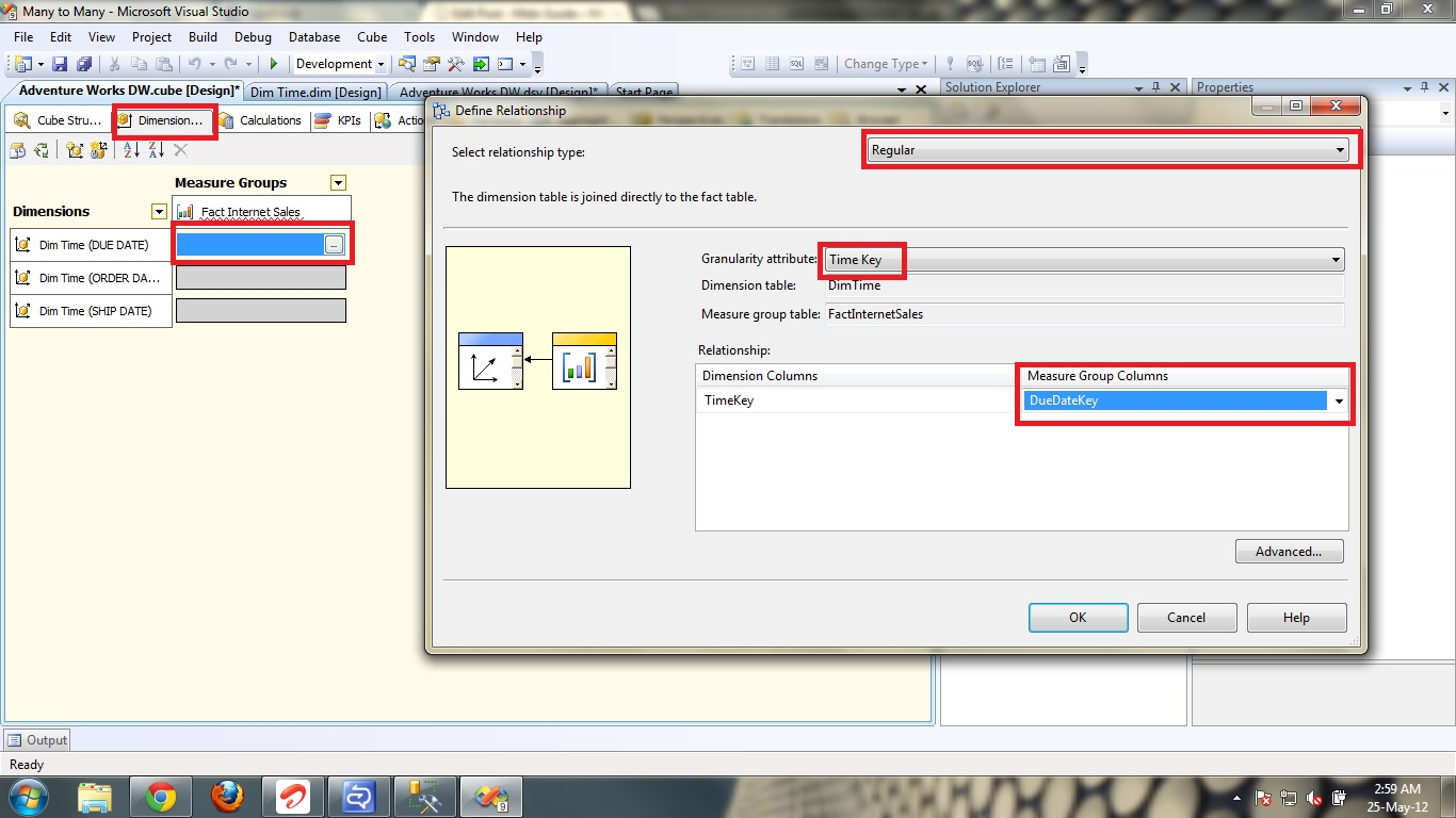Role Playing Dimensions in SSAS   Msbi Guide