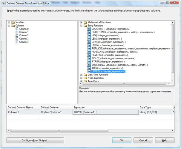 derived column transformation in ssis with example msbi guide
