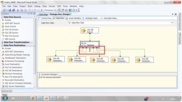 multicast transformation in ssis with example msbi guide