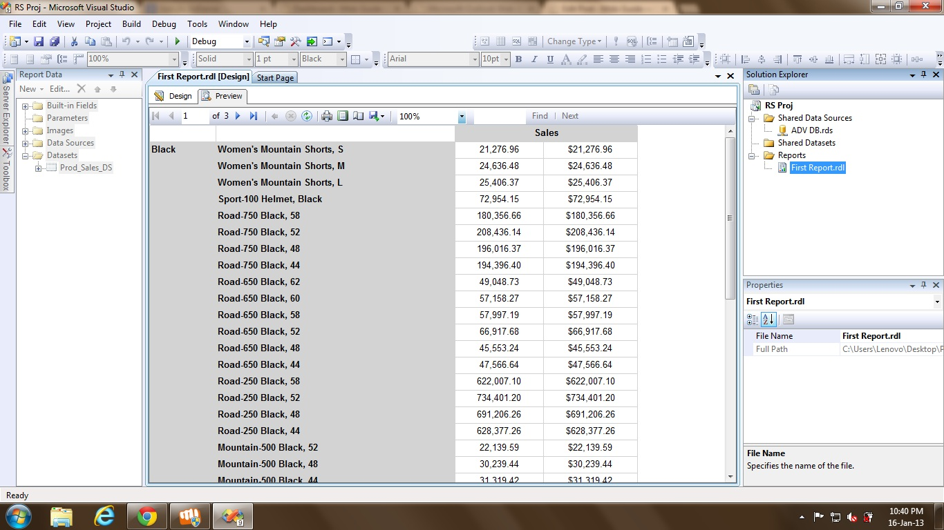 Naming Excel Worksheets using PageName in SSRS | Msbi Guide